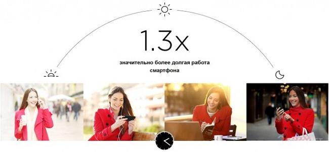 Работа смартфона