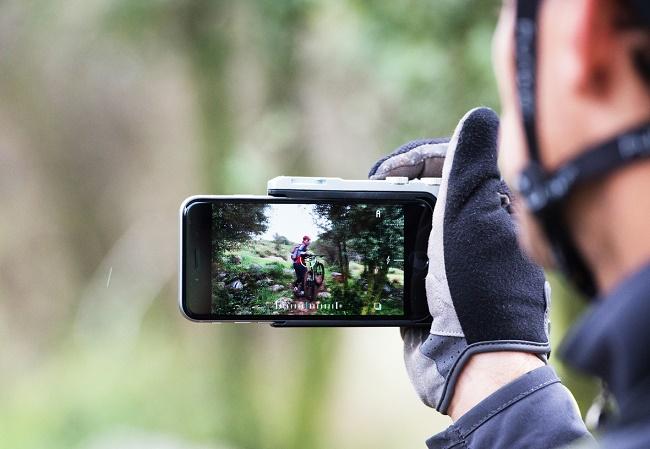 Фокус на смартфоне