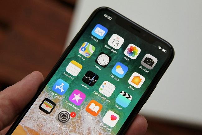 Приложения на сматфоне