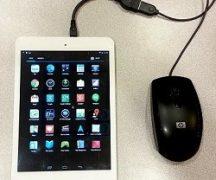 Подключить мышку к планшету