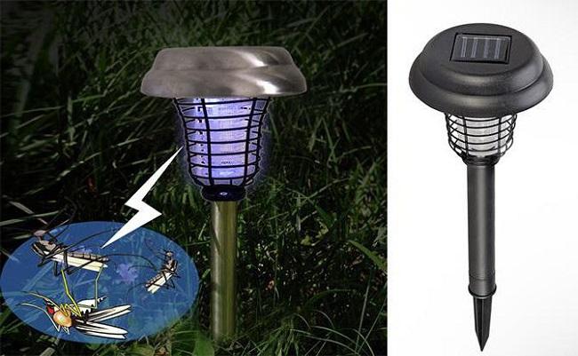 Лампа на участке
