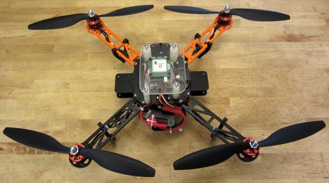 Квадрокоптер самодельный