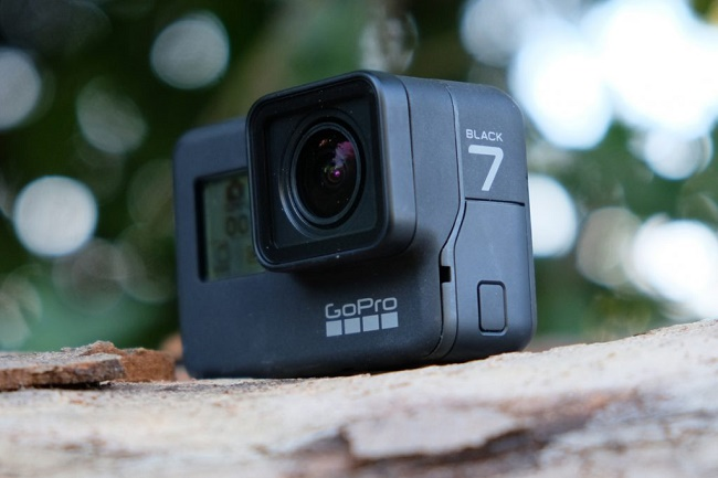 GoPro Hero 7 Black ракурс