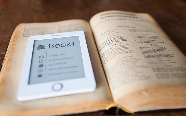 E-ink книга
