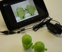 подключение камеры к планшету