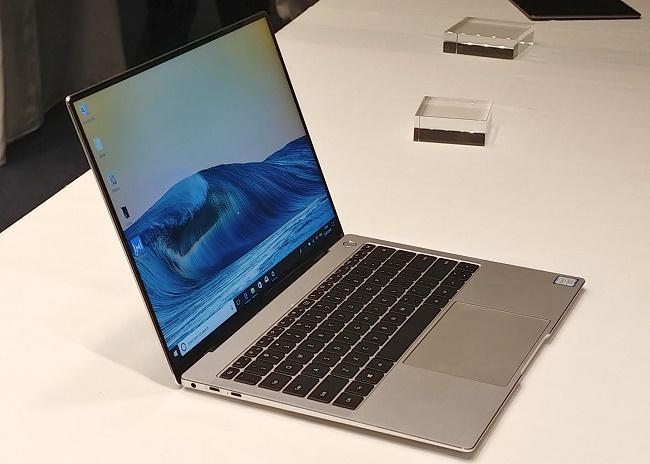 MateBook X Pro сбоку