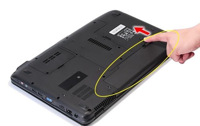 Отсоединить батарею