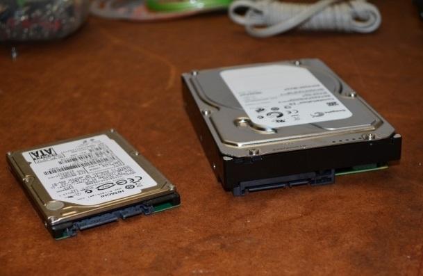 Два жестких диска