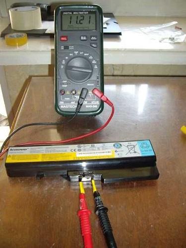 Зарядка батареи без ноутбука