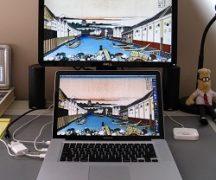 ноутбук как монитор