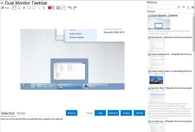 DualMonitor Taskbar