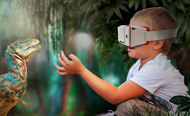 Детские очки виртуальные