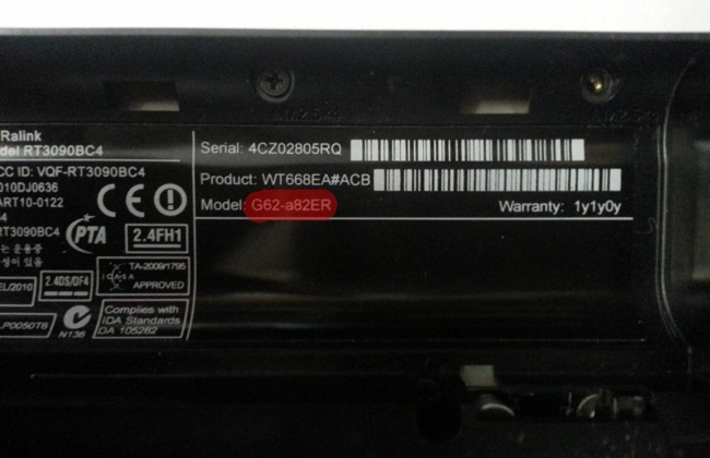Наклейка на аккумуляторе