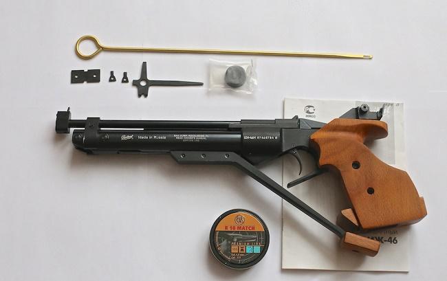 пневматический пистолет для спортивной стрельбы