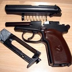 Устройство и принцип работы пневматического пистолета