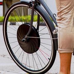Электроколесо для езды на велосипеде