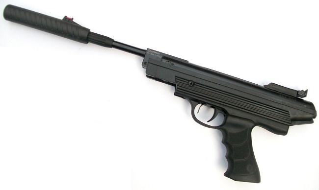 Пружинно-поршневjq пистолет