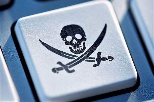 Пират на кнопке