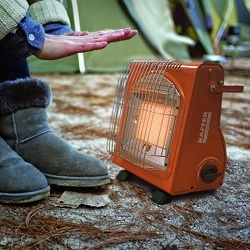 Выбираем газовый обогреватель в палатку