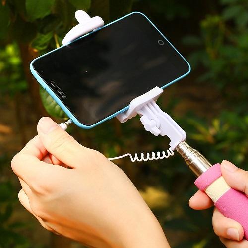 Подключение селфи палки к телефону