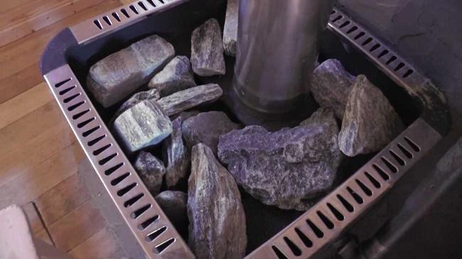 Камни на печи
