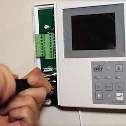 Установка и подключение видеодомофона своими руками