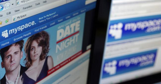 социальная сеть MySpace