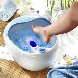 Домашний спа-салон: выбираем массажную ванночку для ног