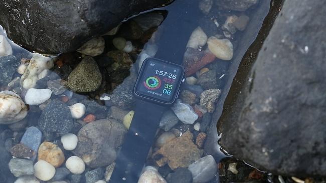 Apple Watch в воде