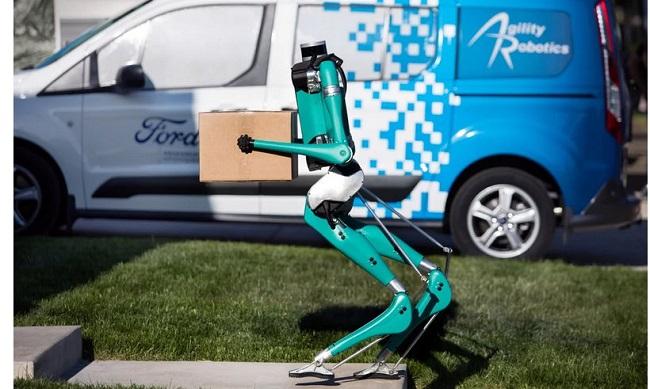 Робот и авто