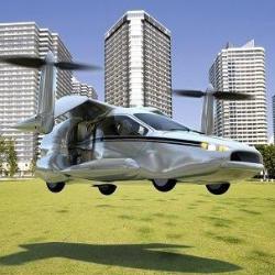 NFC представил машину, умеющую летать