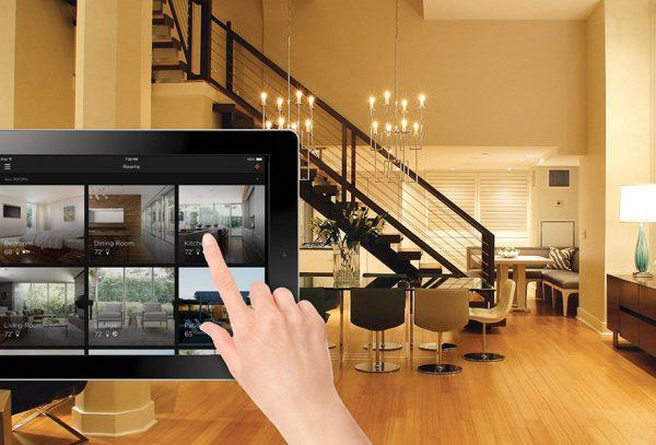 Видеонаблюдение системы умный дом