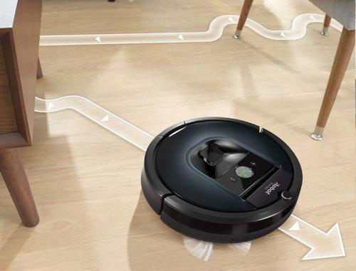 Интеллектуальная навигация Roomba 981