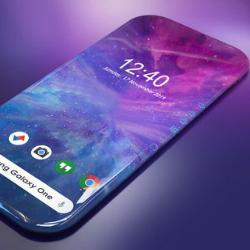 Samsung зарегистрировал патент на смартфон с экраном, «расползающимся» по всем граням