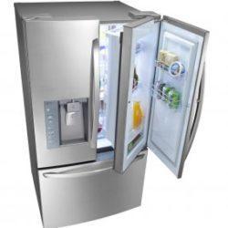 Как самостоятельно перевесить дверь холодильника