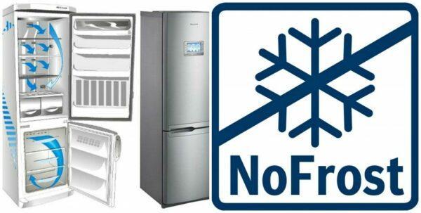 но фрост в холодильнике
