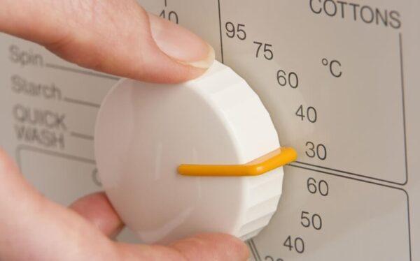 выбор температуры воды при стирке