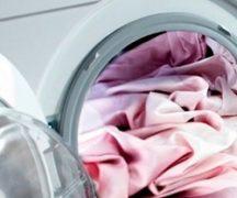 Шелковая простыня в стиральной машине