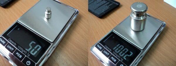 Калибровка весов