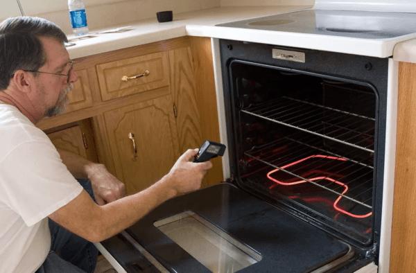 Проверка работы духовки