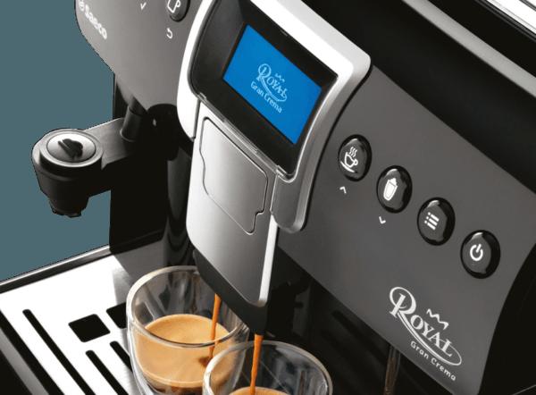 панель управления кофемашиной