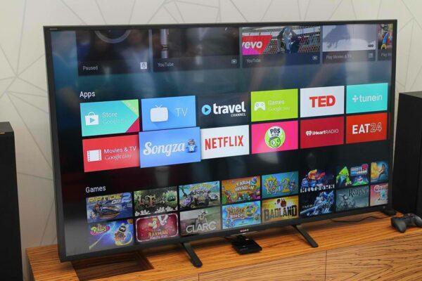 Android TV интерфейс