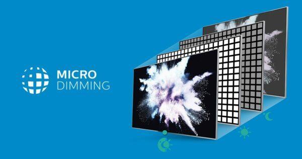MicroDimming технология