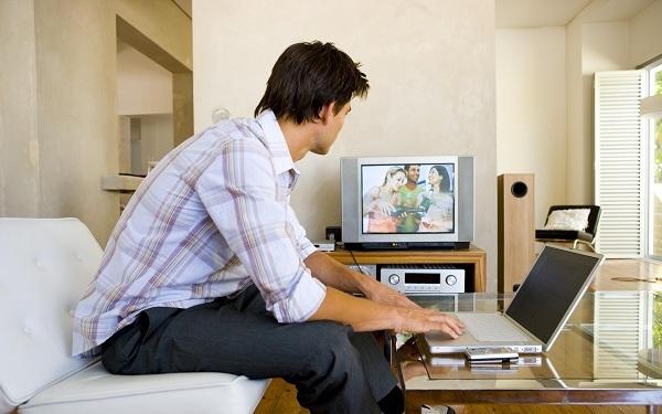 Подключение ноутбука к телевизору