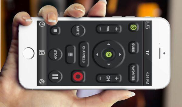 Приложение The TV Remote на iPhone
