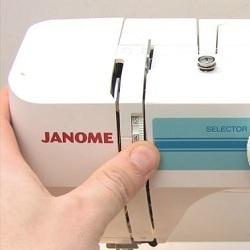 Регулировка натяжения нити на швейной машинке