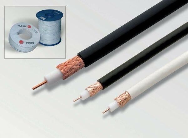 коаксиальный кабель различной толщины