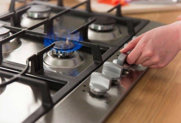 включение газовой плиты