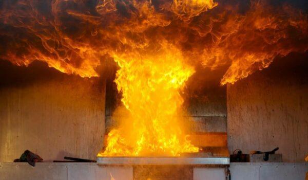 возгорание на кухне