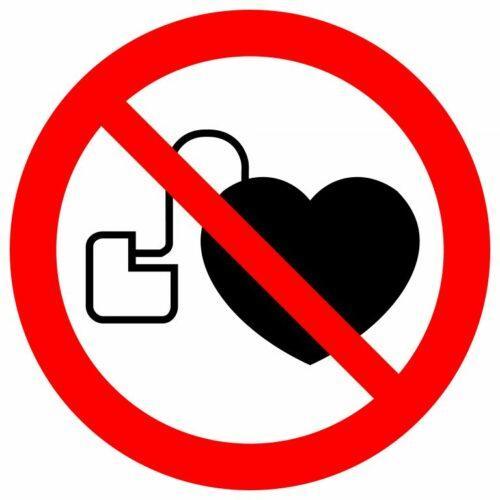 значок кардиостимулятора
